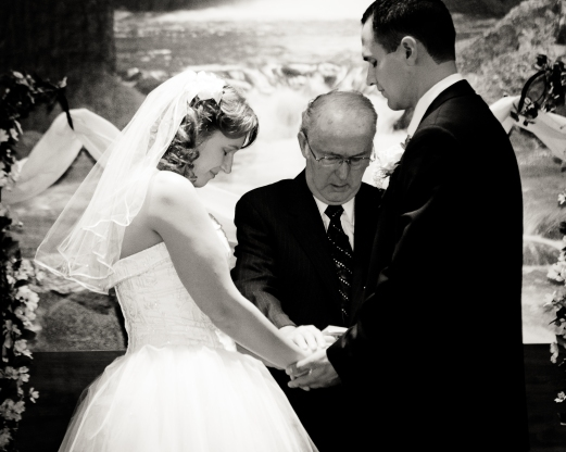 A blessing upon a new life together.