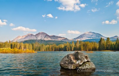 Lassen Peak and Chaos Crags